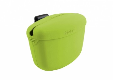 Dexas Clip-On Treat Container Lime