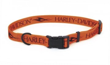 Harley-Davidson® Adjustable Nylon Collar ORN