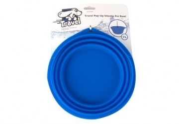 Travel Pop-up Silicone Bowl