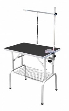 SS Grooming Table Black M