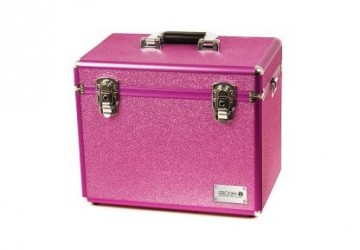 Groom-X Grooming Case Portable Glitter Rosa