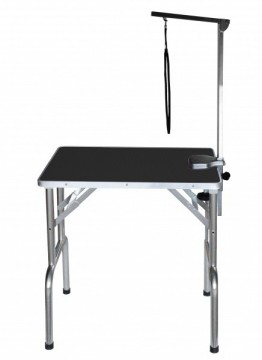 SS Grooming Table Black S