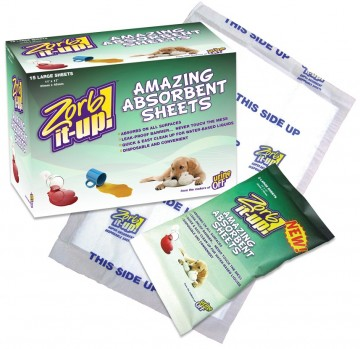 Zorb-It-Up!™ Super Absorbent Disposable Sheets