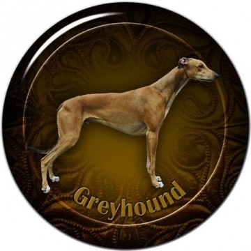 Greyhound 3D Dekal 2