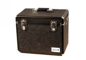 Groom-X Grooming Case Portable Glitter Svart
