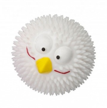 Rubber Lucky Bird Small White