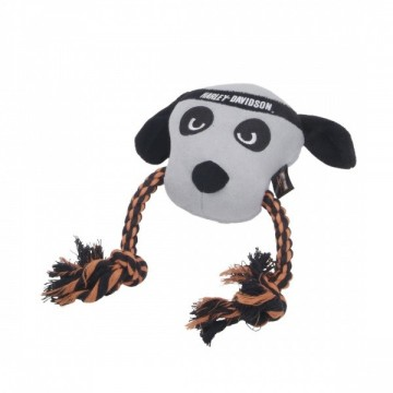 Harley-Davidson® Plush and Rope Tug Dog