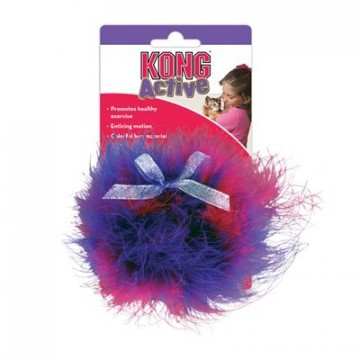 KONG Cat Twisted Boa Puff