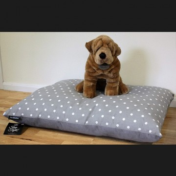 Black Cushion Dog Bed